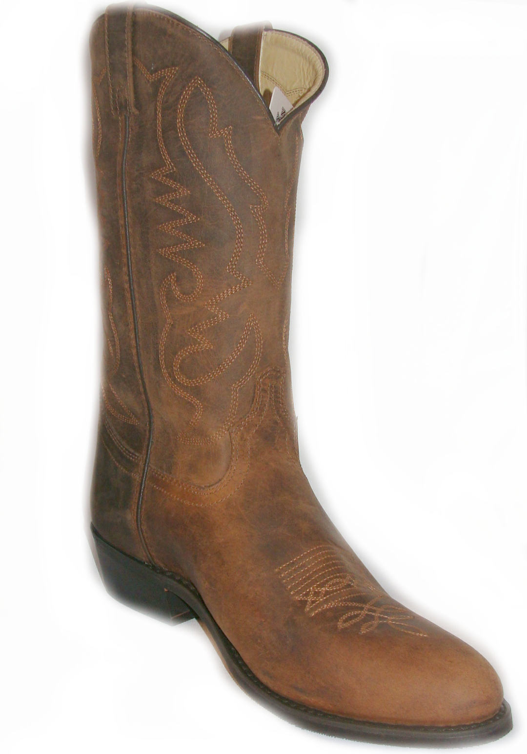 Leather Cowboy Boots - Cr Boot