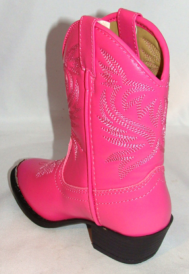 SIZE 5.5 Toddler Hot Pink cowgirl boots