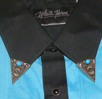 collar tips, western collar tips, shirt collar tips, western shirt collar tip,Western collar tips, shirt collar tips, collar tips western, cowboy collar tips, silver collar tips, metal color tips, shirt collar tips, cowboy western collar tips