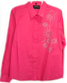 Womens Western Shirts With Snaps