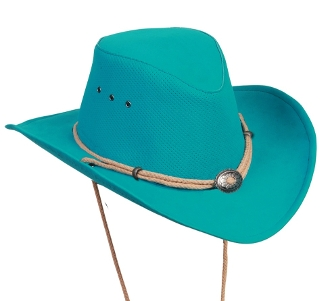 """New Mexico"" Kakadu soaka cowboy hat UV, water cowboy hat, river hat, cowboy hat, mens cowboy hat, womens cowboy hat, cowboy hat with draw string, waterproof cowboy hat, Kakadu soaka"