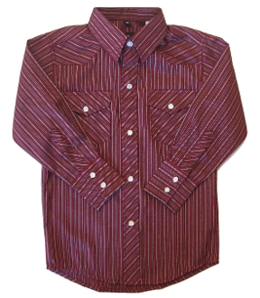 Child pearl snap Burgundy, Black striped western shirt, child pearl snap shirt, kids western shirt, western shirt for kids, western shirt for girls,
