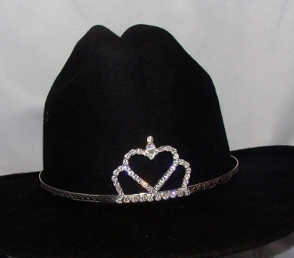 Rodeo Queen cowgirl hat tiara, rodeo crown, cowboy hat crown, tiara, cowgirl hat tiara, cowboy hat tiara, hat tiara. princess tiara for cowboy hat, crown for cowboy hat, rodeo crowns for cowboy hats