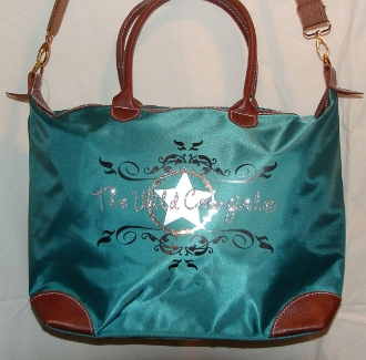 """The Wild Cowgirl"" Cross-body Teal Handbag, overnight, travel bag, the wild cowboy t shirt, western t shirt for women, womens western tshirts, cowboy western tee shirts, western tees, womens western shirts"