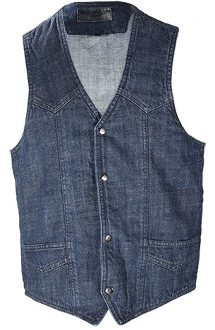Mens Front Snap Dark Blue Denim Concealed Carry Western Vest, Mens Concealed Carry Western Vests, mens Canvas Concealed Carry Western Vest, gun carry vest, concealed Carry Western Vest, canvas western vest, mens western vest, western vest for men