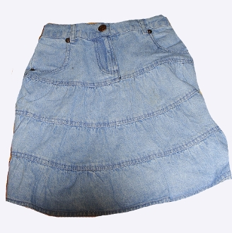 Girls 3/4 Length denim western skirt, Girls Western Skirt, Girls denim western skirt, girls Denim Western Skirt, girls denim western skirt, kids denim western skirt, toddler western skirt