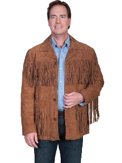 mens fringe western jacket, western fringe jacket for men, suede fringe jacket, scully fringe jacket, Mens Scully fringe jacket, scully mens fringe western jacket, fringe jacket