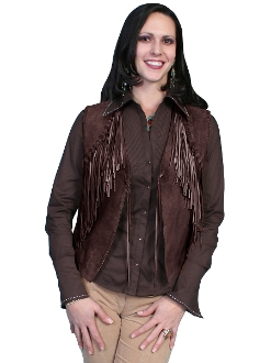 scully western vest, western suede vest, black suede vest, suede western jacket, western ladies vest, suede scully vest for ladies, womens western jacket, scully vest
