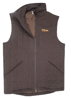 Womens Cashel Brown Western Trail Vest, western vest for women, ladies brown trail riding vest, womens horse riding vest, womens trail riding vest