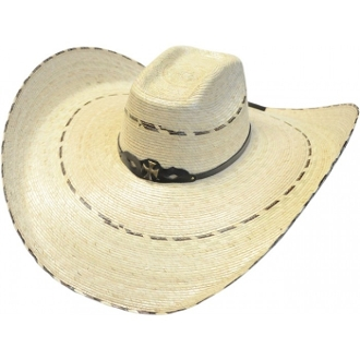 Adult 8 Second Palma Verde Straw Sombrero Hat, Adult 8 Second Pinto Sombrero Style Cowboy Hat, El Borracho Adult 8 Second XLarge Sombrero Style Cowboy Hat, Sombrero Straw Cowboy Hat, Sombrero Hat