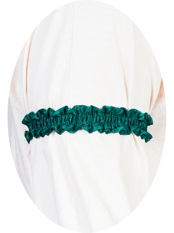 USA Made Scully Wahmaker green Sleeve Garter