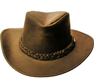 """Paxton"" Brown Leather Shape-able Cowboy Hat, mens cowboy hat, cowboy hat for men, leather western hat, leather cowboy hats for sale, black leather cowboy hat, brown leather cowboy hat, cowboy hat"