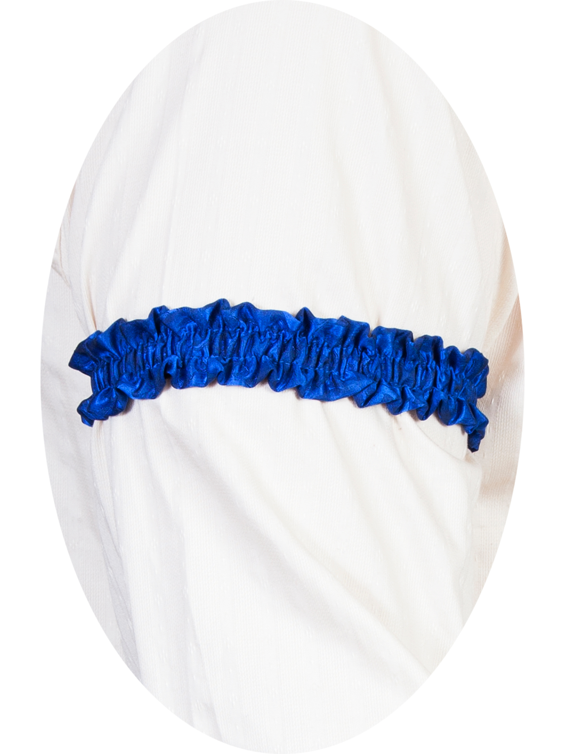 USA Made Scully Wahmaker Royal Blue Sleeve Garter