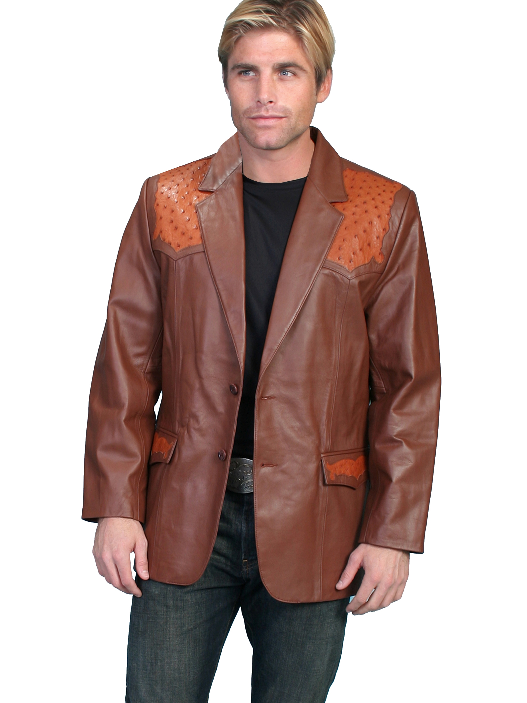 western jackets for men, western blazer, western coats, scully blazers, scully coats, scully jackets, leather western jackets, western fringe jackets, fringe western jackets, daniel boone jacket, davey crocket jacket