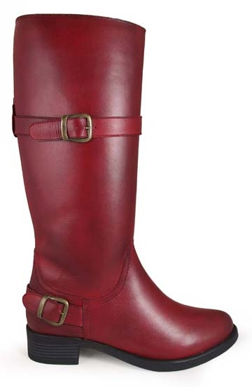 """Donna"" Womens Tall shaft Red Country Boots, Womens Tall shaft red Boots,Womens Tall shaft Country Boots, womens riding boots"