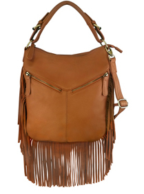 """Tammy"" Brown Concealed Carry Fringe Western Purse is perfect for any womens concealed gun needs"
