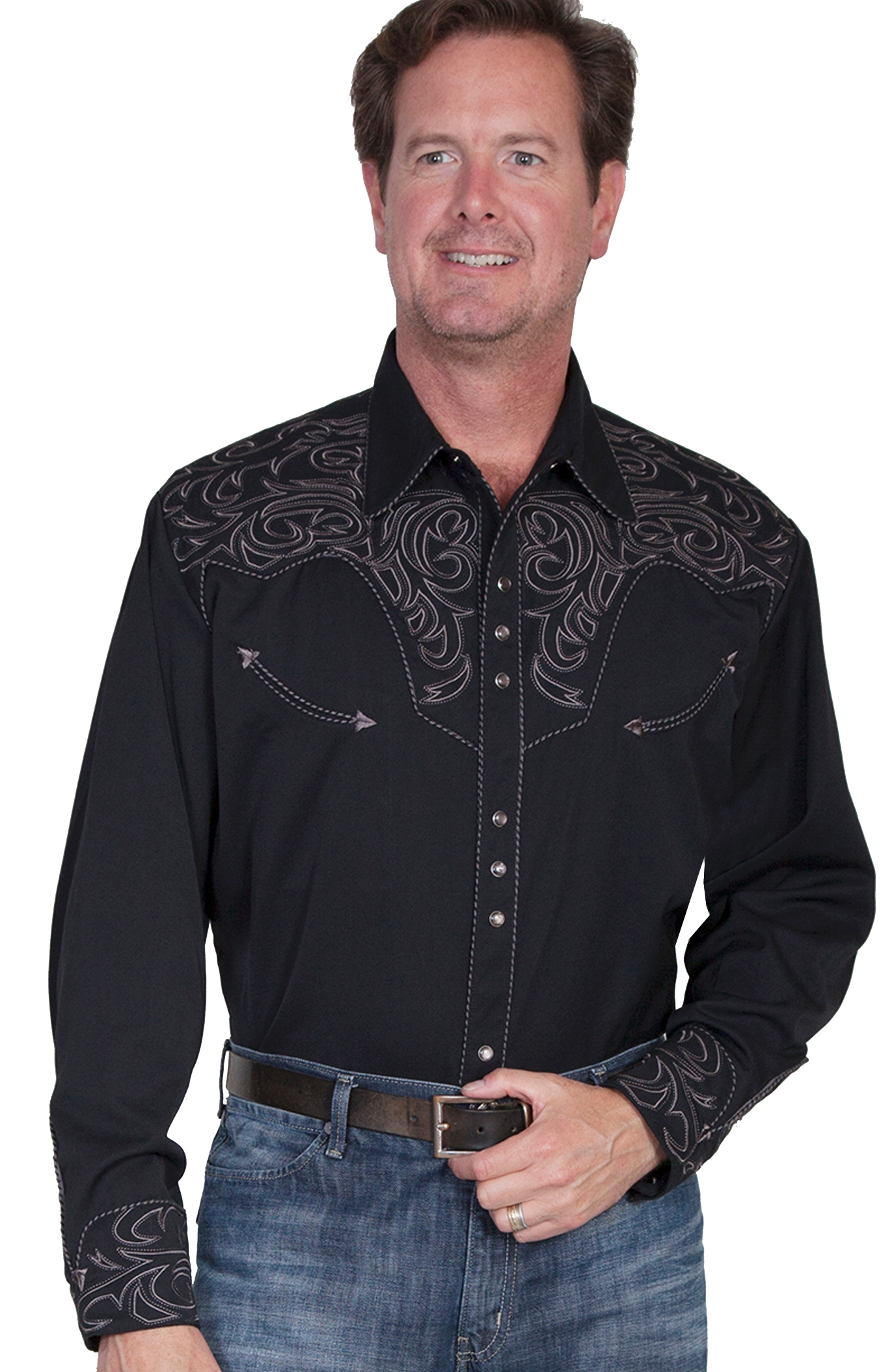 Mens Scully Turquoise Chocolate western Gunfighter shirt, mens scully western shirt, mens western shirt, cowboy shirt, western shirt for men, scully retro shirt, vintage shirt, retro shirt, scully