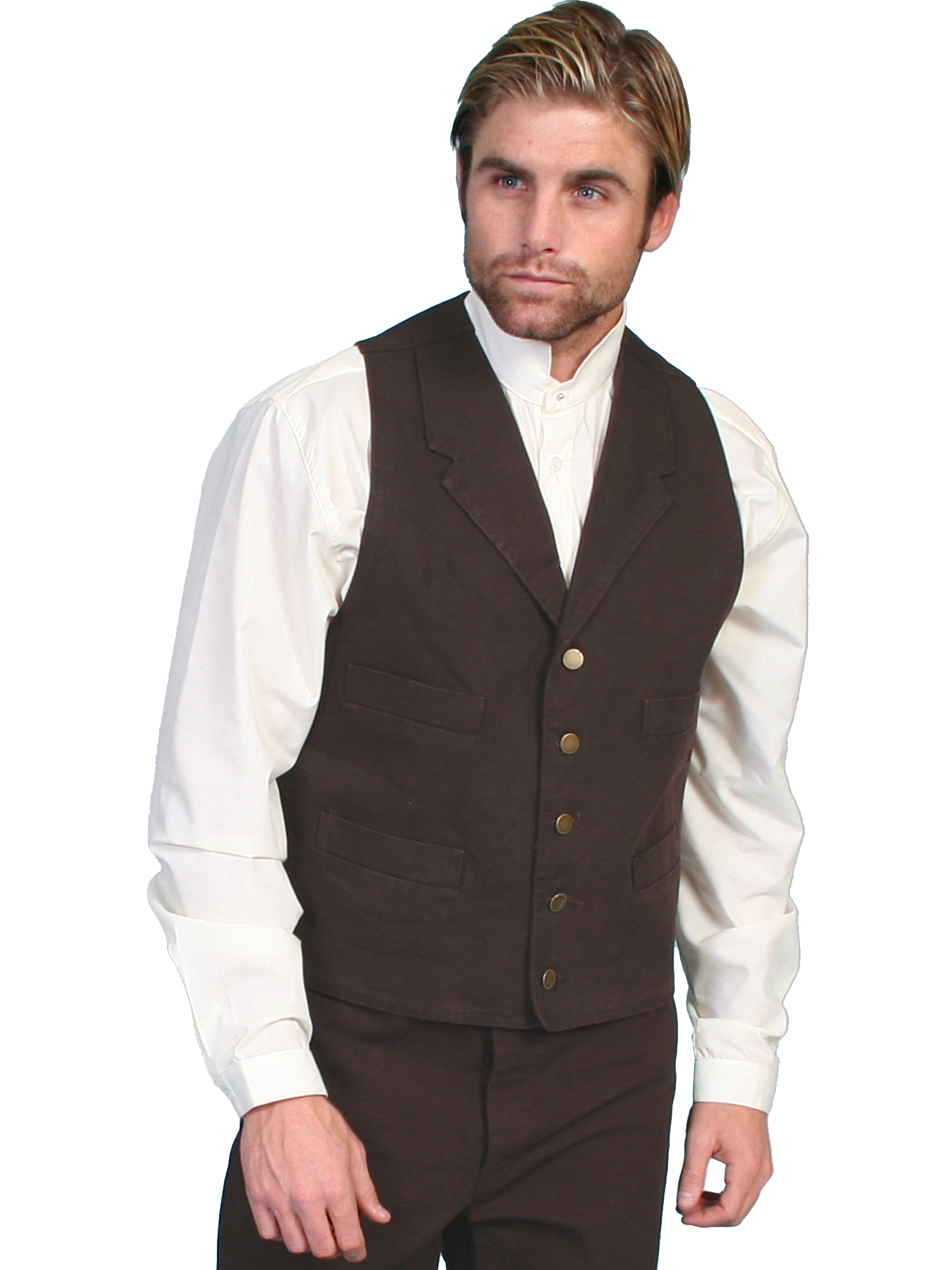 Big And Tall Patio Furniture: Mens Big N Tall Cotton Western Vests