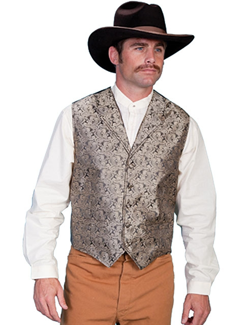 mens western vest, western vest for men, Paisley western vest, scully vest, scully mens vest, western wedding vest