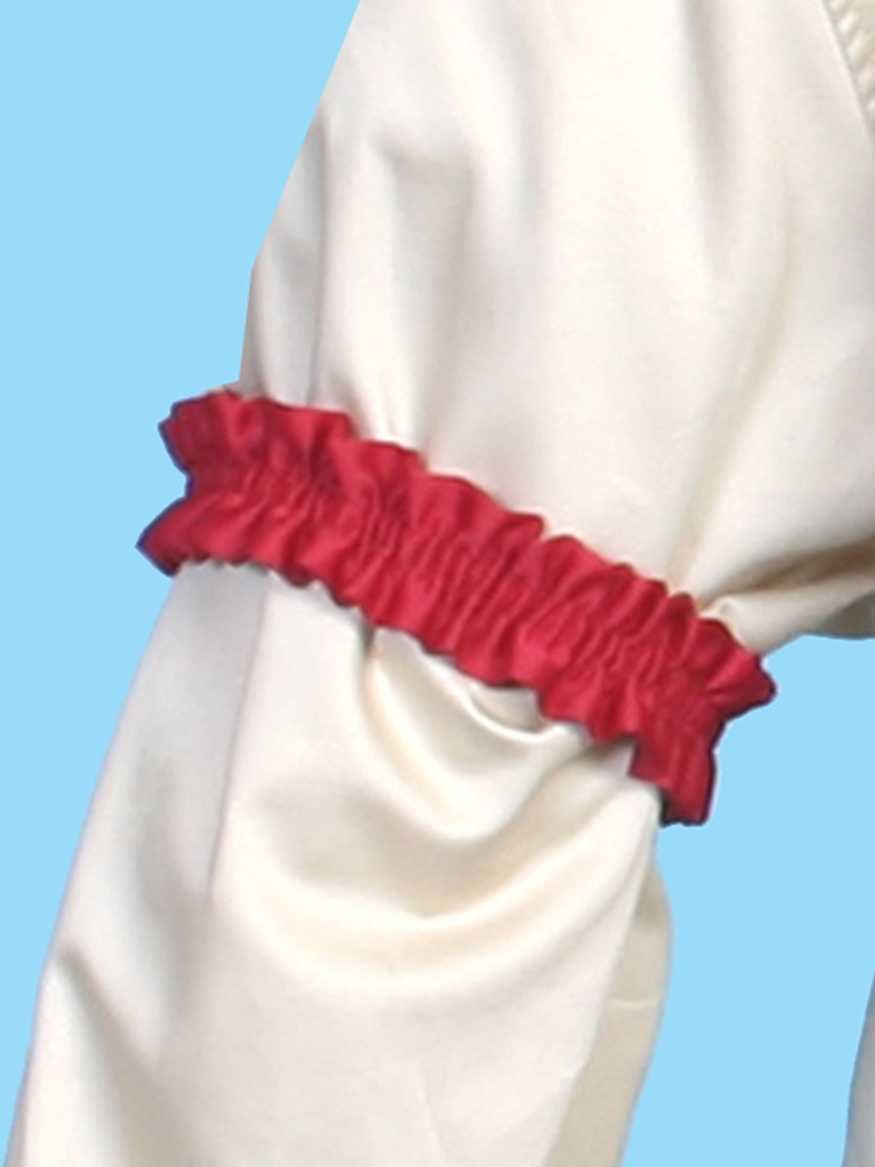Scully Rangewear red Sleeve Garter