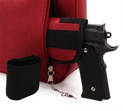 Black Hobo Rhinestone Western CCW Holster Purse with Wallet is perfect for any womens concealed gun needs