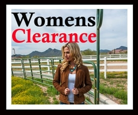 Womens Clearance Western Wear at The Wild Cowboy at discount prices. Clearance Coats vests and jackets for women and clearance western shirts.