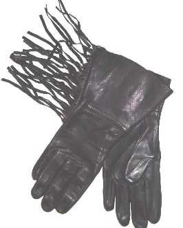 western gloves, western fringe gloves, leather fringe gloves, cowboy gloves, rodeo gloves, fringe western gloves, black western gloves, black fringe gloves
