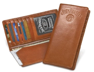 Jack Daniels wallet, JD wallet, brown leather wallet, Mens western wallet, jack daniels wallet, jack daniels leather wallets, jack daniels check book wallet, Jack Daniels wallet, western tri fold wallet