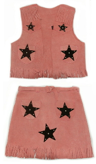 girls cowboy vest, child pink western skirt, girls pink western vest, child cowboy outfit, child western wear, girls western skirt, girls western vest, childrens western wear, girls pink western skirt, pink suede skirt for girls,