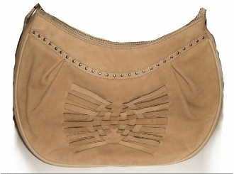 Nubuck leather western studded purse by Abilene