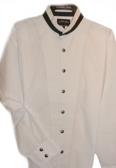 mens modified tux shirt, modified tux shirt