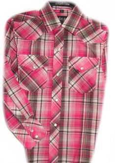 Child pearl snap, Raspberry plaid western shirt child pearl snap shirt, kids western shirt, western shirt for kids, western shirt for girls, western shirt for boys, child plaid western shirt, child plaid shirt