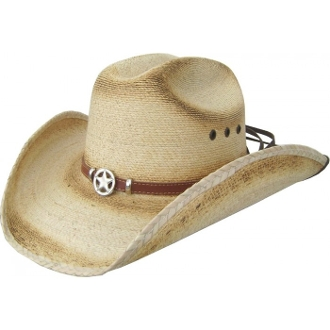 "This Child ""Western Star"" Sahuayo straw cowboy hat for any kid looking for that great western rodeo vibe with the western star hat band."