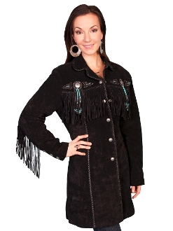 womens black fringe jacket, Womens Scully jacket, fringe jacket for women, scully fringe jacket, western fringe jacket, womens fringe jacket, womens fringe jacket, Beaded fringe western jacket