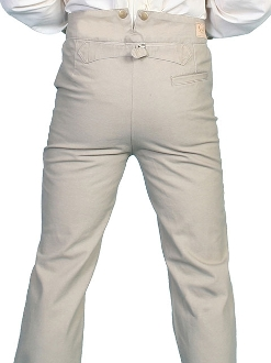Mens Rangewear Sand Cotton Canvas Suspender Pants