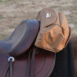 Deluxe Cantle Saddle Bag With Jacket Liner