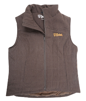 mens Cashel Brown Western Trail Vest, western vest for men, brown trail riding vest, mens horse riding vest, mens trail riding vest