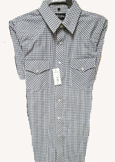 This Mens Black Plaid Short Sleeve Pearl Snap Western Shirt is great for the spring and summer camping shirt in a comfortable short sleeve with the retro pearl snaps for men.
