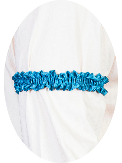 This pair of Scully Wahmaker turquoise aqua Sleeve Garters are made in the USA a perfect gambler style wedding Armband for your shirt sleeve that matches the 19th century old frontier paisley mens vests