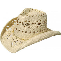 57532bec1 Straw cowboy hats, Crushable straw hats, Raffia straw cowboy hats