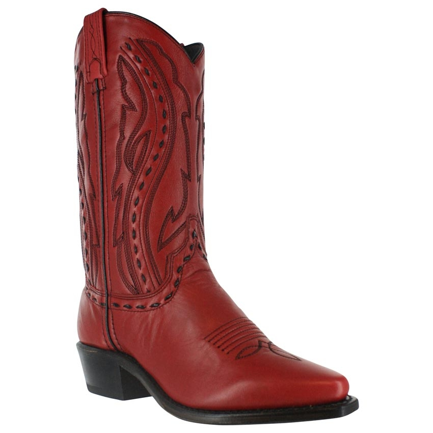 Nubuck leather laced womens cowboy boots, usa made cowboy boots, womens cowboy boots, cowboy boots for women, cowboy boots