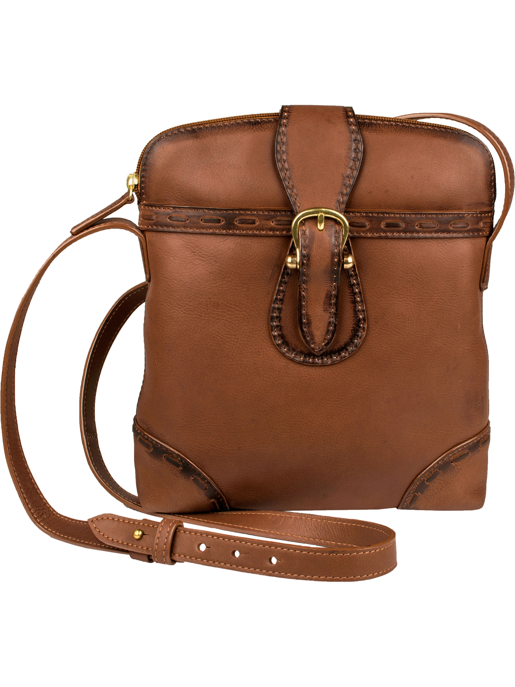 Pebble Calf Leather Cross Body Shoulder bag Handbag Purse
