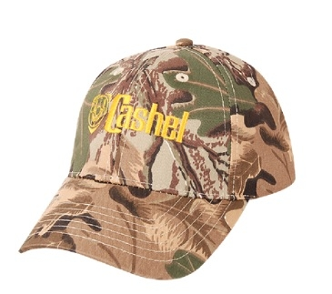 This Cashel Camo Baseball Cap is made for the trail rider horseback riding to keep the shade off your head while on the ground or riding your horse. For men or women camo ball cap in a camoflauge print cap with adjustable back.