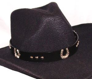 Cowboy hat bands, Western hat bands, bone, Crystal hat bands