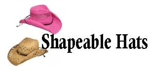 WildCowboy offers Shapeable straw cowboy hats for cowboy or cowgirls. easily shape these western raffia straw hats that come in many colors such as pink, black, white, red, blue or natural raffia straw to fit anyones rodeo boot scooting style.