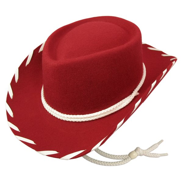 043bf5e4 Child Woody Red Wool Jessie cowboy hat